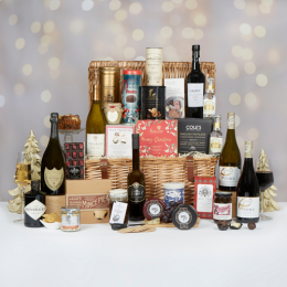 The history of the Christmas hamper