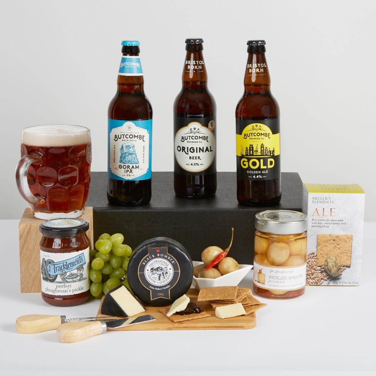 Hampers Ploughman's Beer Hamper