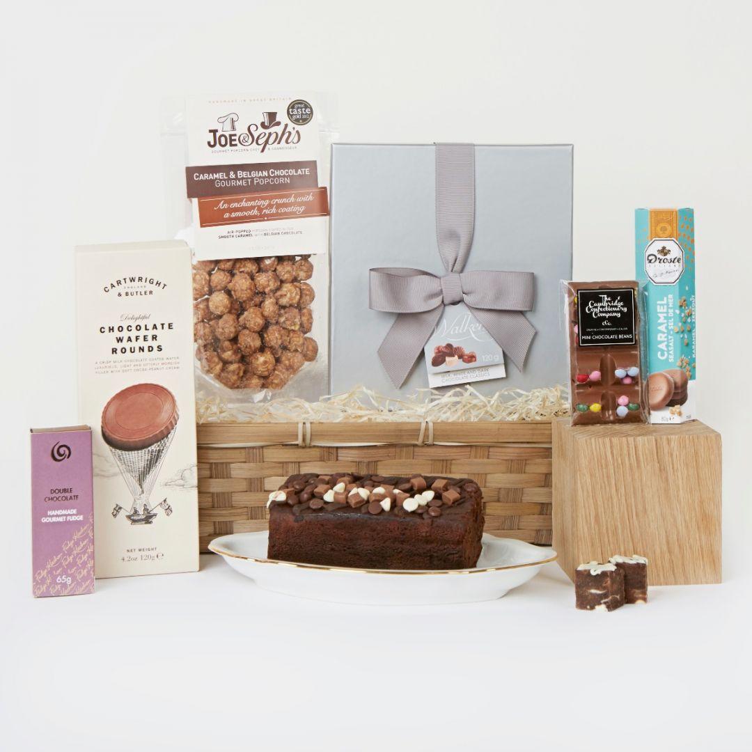 Gourmet Chocolate Lovers Hamper Uk Chocolate Hampers Hampers Com