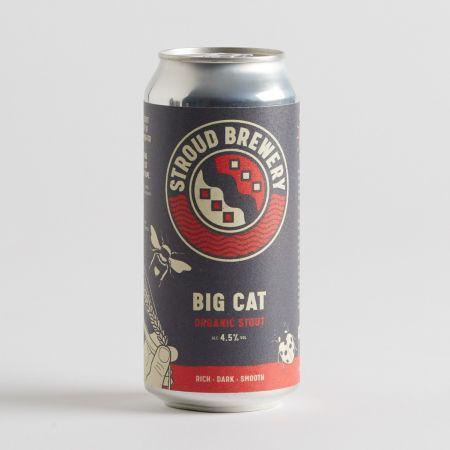 Stroud Big Cat Organic Stout 440ml