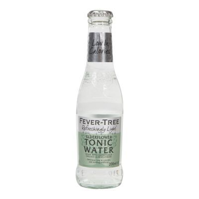 200ml Fever Tree Mediterranean Elderflower Tonic Water