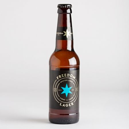 330ml Freedom Lager
