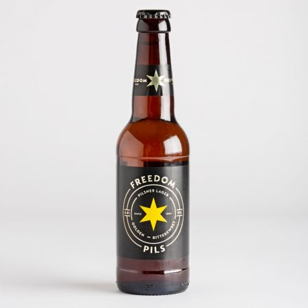 330ml Freedom Pilsner