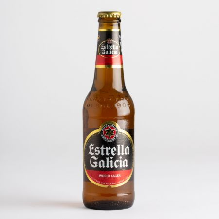 330ml Estrella Galicia Spanish Beer