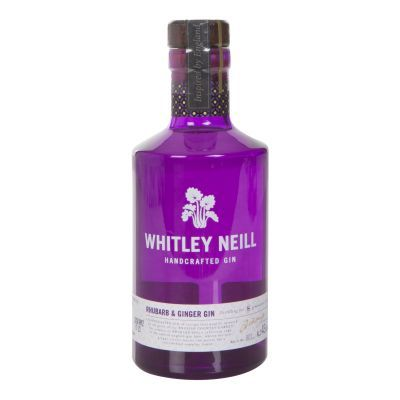 20cl Whitley Neill Rhubarb and Ginger Gin