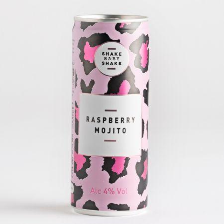 Shake Baby Shake Raspberry Mojito 250ml