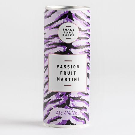 Shake Baby Shake Passionfruit Martini 250ml