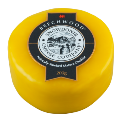 200g Snowdonia Beechwood Smoked Chedder