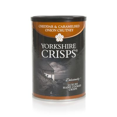 100g Yorkshire Crisps Cheddar and Caramalised Onion