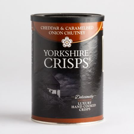 100g Yorkshire Crisps Cheddar and Caramalised Onion