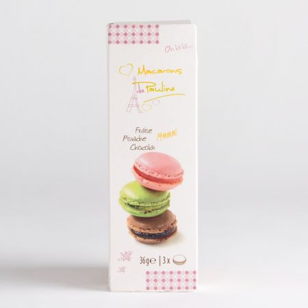 35g Macarons De Pauline x3