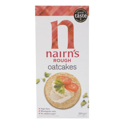 291g Nairns Rough Oatcakes