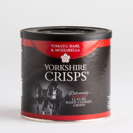 50g Yorkshire Crisps Tomato Basil & Mozzarella