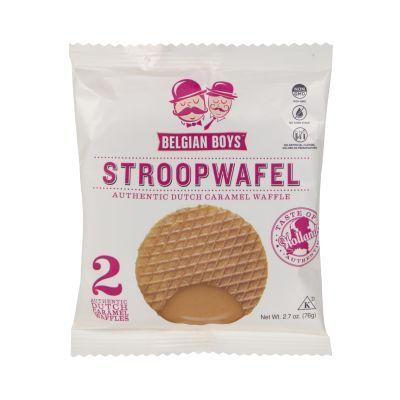 76g Belgian Boys Individual Stroopwafel (2)