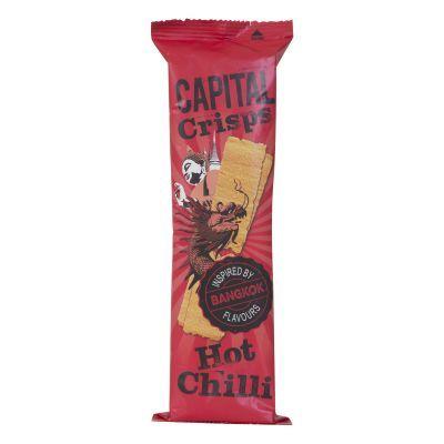 75g Capital Crisps Hot Chilli Flavour