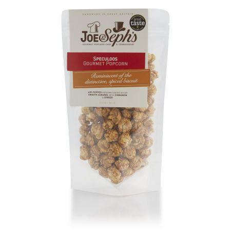 80g Joe & Sephs Speculoos Popcorn