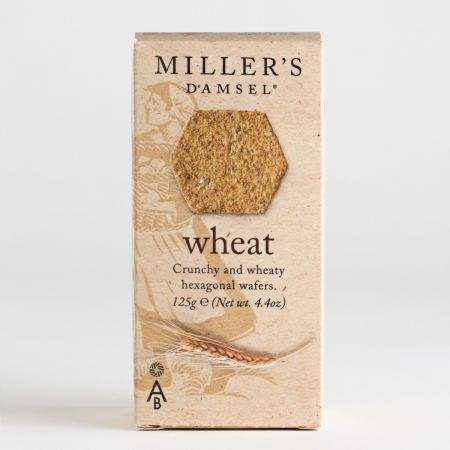 125g Millers Damsel Wheat Crackers