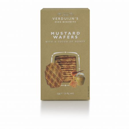 75g Verduijns Honey & Mustard Wafers
