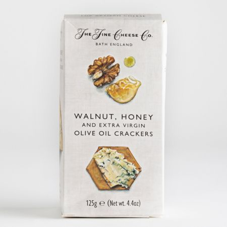 125g Fine Cheese Co Walnut and Honey Olive Oil Crackers