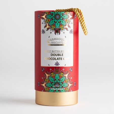 150g Kensington Gift Tube Double Chocolate Biscuits