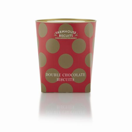 Festive Spotty Box Chocolate Biscuits