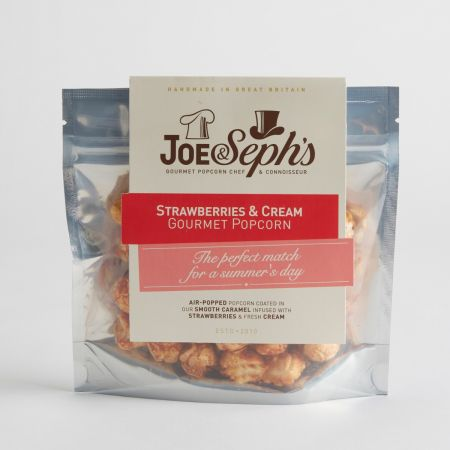 Joe & Seph's Strawberries & Cream Popcorn 32g