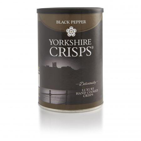 100g Black Pepper Yorkshire Crisps