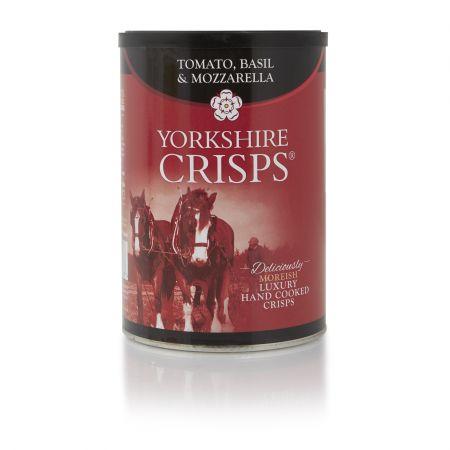 100g Yorkshire Crisps Tomato Basil & Mozzarella
