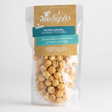 Joe & Seph's Vegan Salted Caramel Gourmet Popcorn (80g)