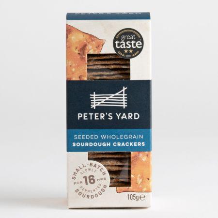 Peter's Yard Seeded Wholegrain Sourdough Crackers 105g
