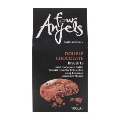 100g Four Anjels Double Chocolate Biscuits