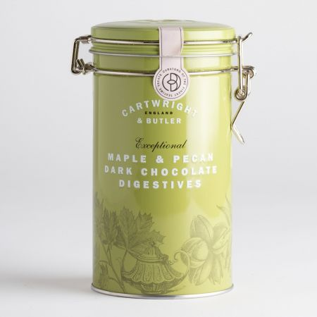 200g C&B Maple and Pecan Biscuits in a Tin