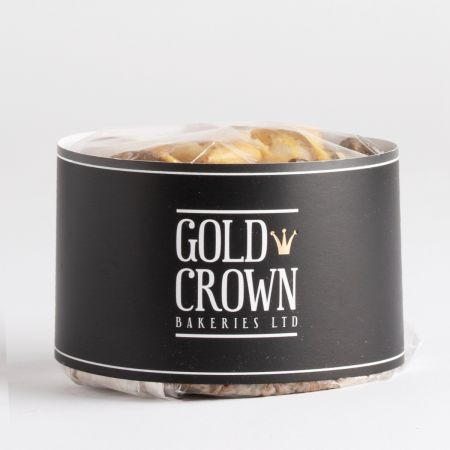 400g Gold Crown Gold Dusted Fruit Cake