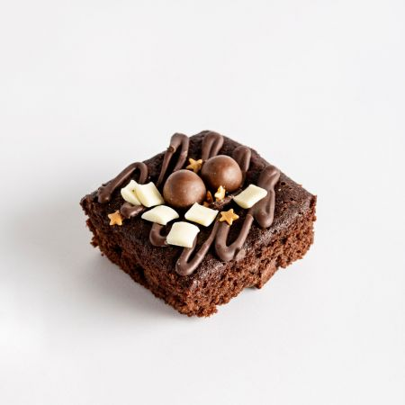 Mini Square Chocolate Truffle Cake