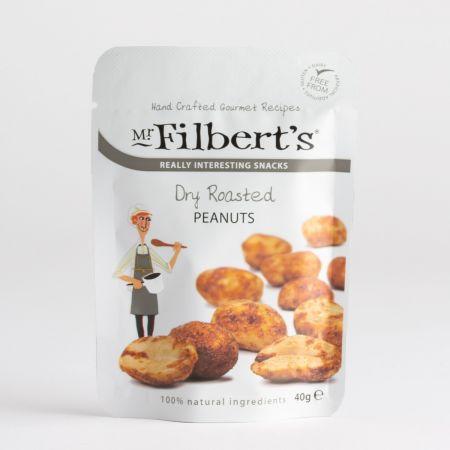 40g Filberts Dry Roasted Peanuts