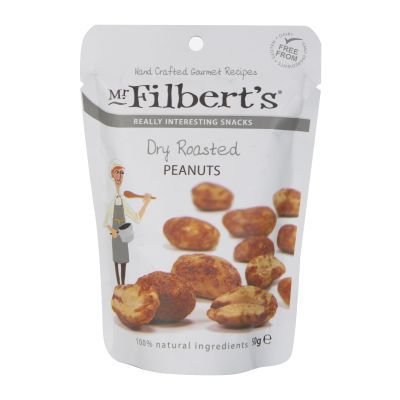 40g Filberts Dry Roasted Peanuts