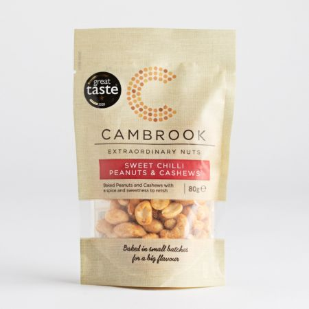 80g Cambrook Sweet Chilli Nut Bag