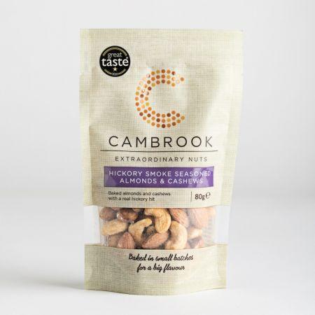 Cambrook Hickory Smoke Seasoned Almonds & Cashews