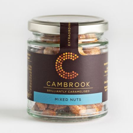 Cambrook Caramelised Mixed Nuts in a Jar 95g