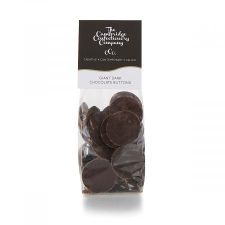 The Cambridge Confectionery Co. Dark Chocolate Buttons (150g)