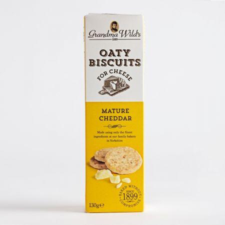 Grandma Wild's Mature Cheddar Oaty Biscuits