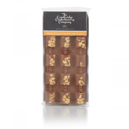 Cambridge Confectionary Co. Milk Chocolate Honeycomb Bar (90g)
