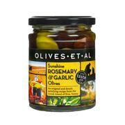150g Olives Et Al Rosemary & Garlic Olives