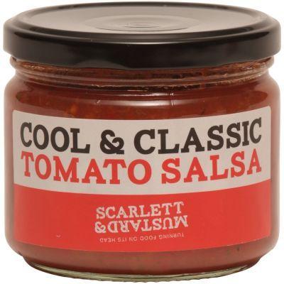 Scarlett & Mustard Cool & Classic Tomato Salsa 300g