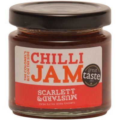 Scarlett & Mustard Chilli Jam 125g