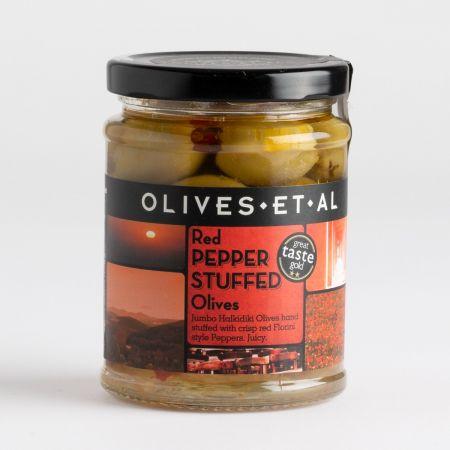 Olives Et Al Red Pepper Stuffed Olives 150g