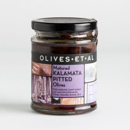250g Olives et al Kalamata Pitted Olives