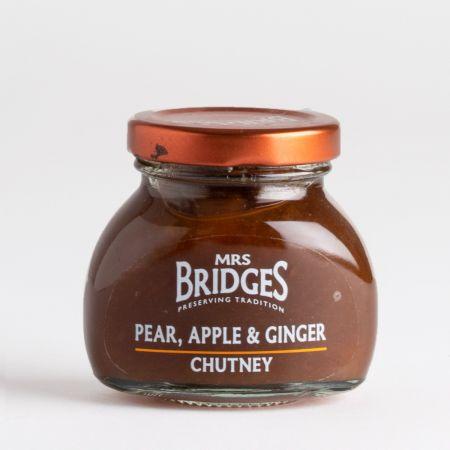 100g Mrs Bridges pear apple and ginger chutney