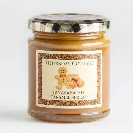 210g Thursday Cottage Gingerbread and Caramel Spread