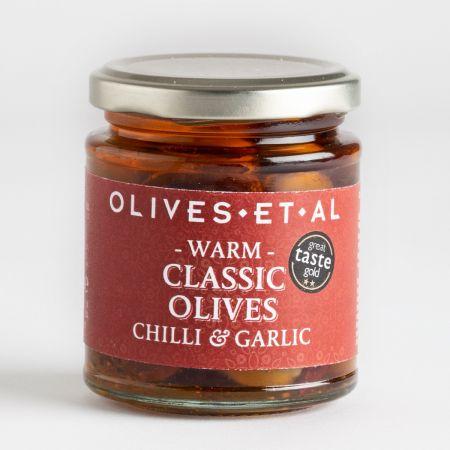 Classic Chilli & Garlic Olives 150g